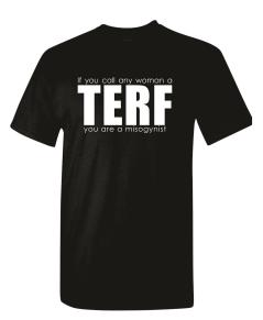 TERF black shirt